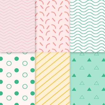 Collectie van minimaal geometrisch patroon