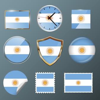 Collectie vlag argentinië