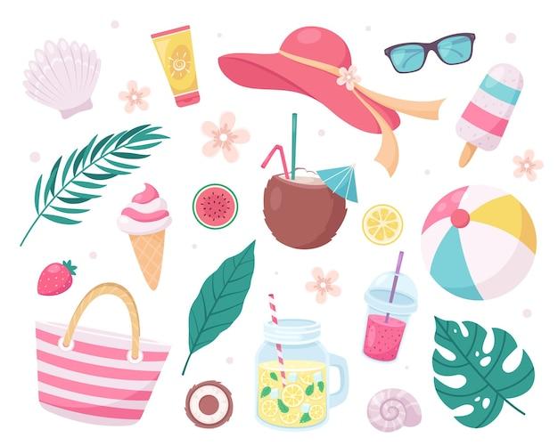 Collectie zomerelementen
