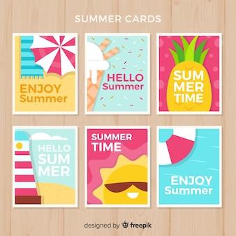 Collectie zomerkaarten