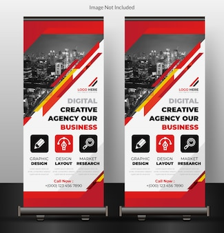 Collectieve roll up banner