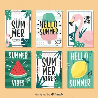 Collectio voor zomerkaarten