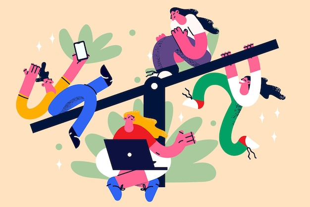 Collega's freelancers en teamwork concept
