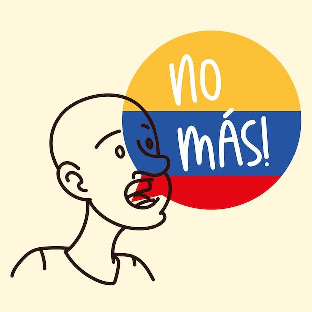 Colombia niet meer