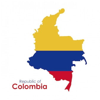 Colombia ontwerp