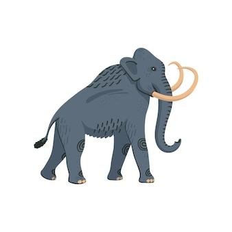 Colombiaanse mammoet prehistorische uitgestorven amerikaanse olifant