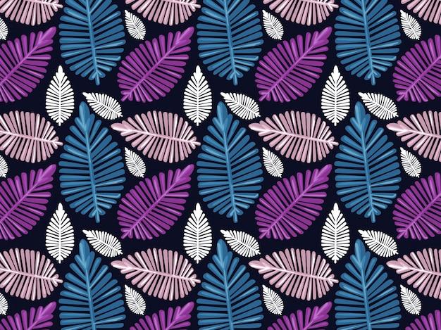 Colorfull laat naadloos patroon met donkere achtergrond