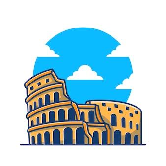Colosseum illustratie.