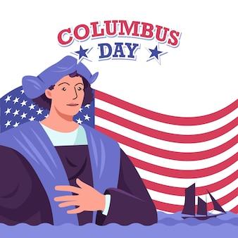Columbus dag vector