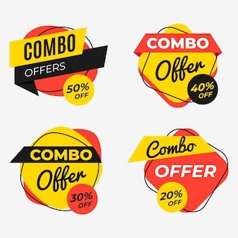 Combo-aanbiedingen - labels