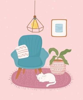 Comfortabele woondecoratie