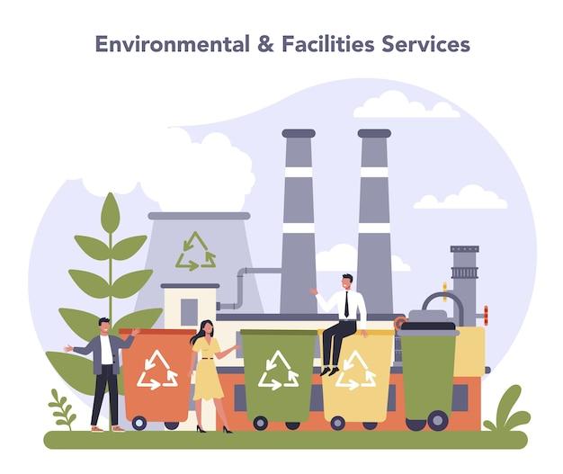 Commerciële diensten en leveringen sector van de economie.