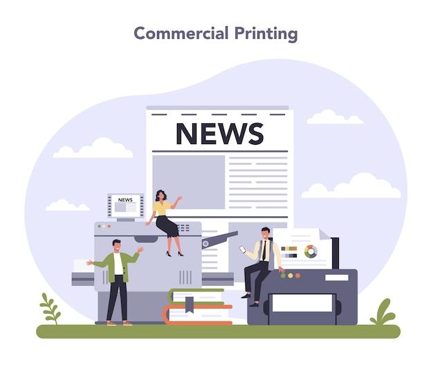 Commerciële diensten en leveringen sector van de economie