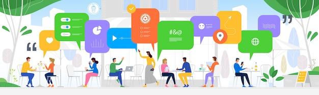 Communicatie in de wereldwijde computernetwerken
