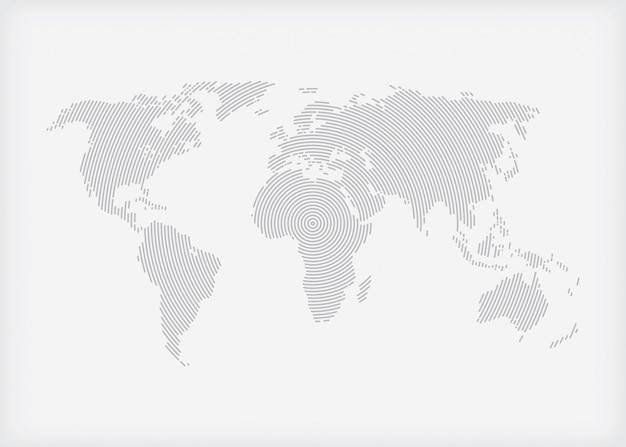 Communicatienetwerk van de wereld