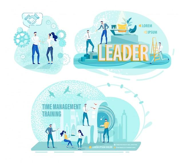 Communicatieve en time management vaardigheden cursus