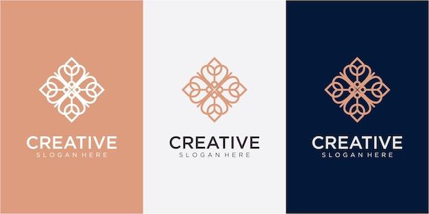 Community love logo-ontwerpinspiratie met visitekaartje