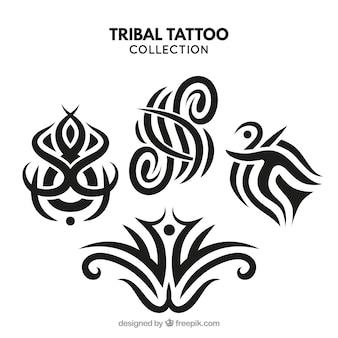 Compacte tribal tattoo collectie