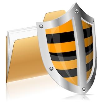Computer gegevens veiligheidsconcept