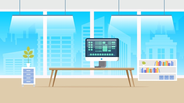 Computerlaboratorium panorama