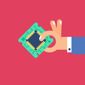 Computerprocessor chip