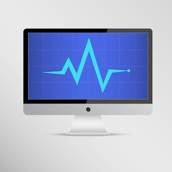 Computerreparatie, computer service vector