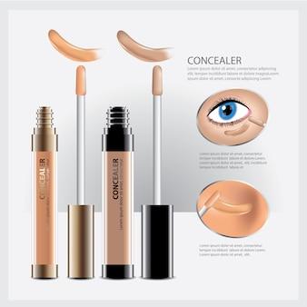 Concealer cosmetic pakket