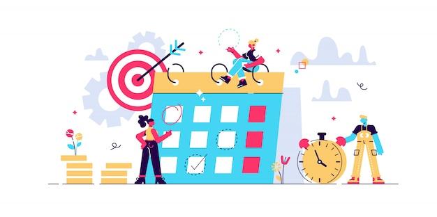 Concept bespaart tijd, geld besparen. tijden zijn geld. zaken en management, spaarpot, tijd is geld, financiële investeringen in toekomstige inkomstengroei op de aandelenmarkt, planning van tijdbeheer, deadline.