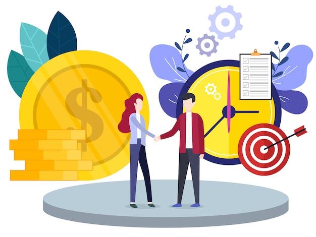 Concept financiële investeringen innovatie