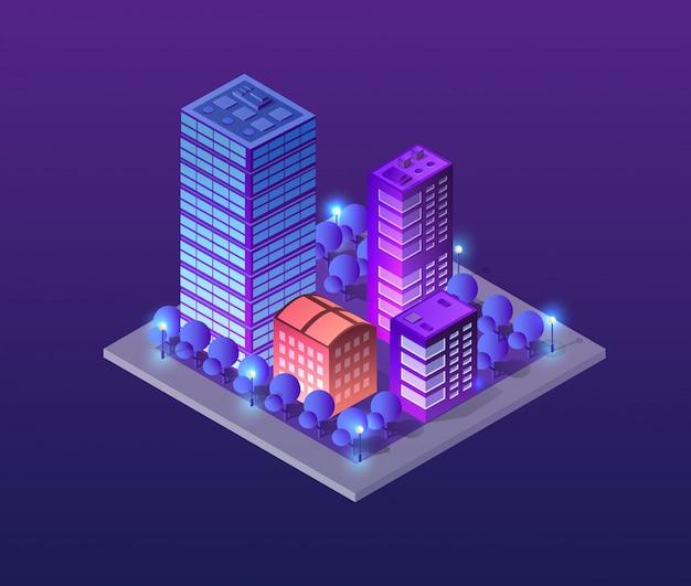 Concept illustratie stad