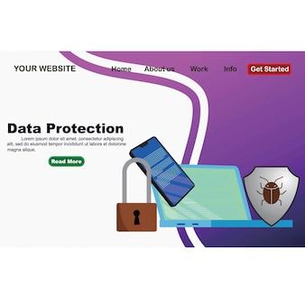 Concept is gegevensbeveiliging toegang
