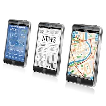 Concept - smartphone-toepassingen