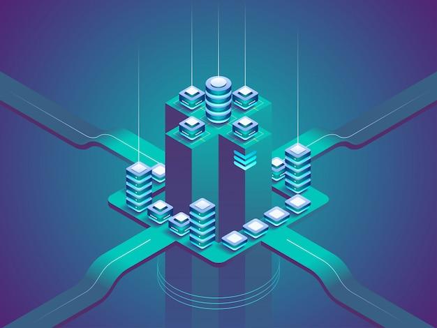 Concept van big data-verwerking