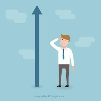 Concept van de groei van het bedrijfsleven