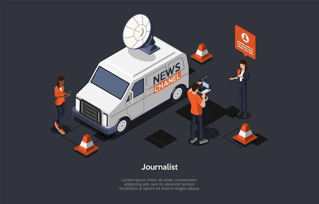 Concept van het breken van het laatste nieuws. nieuwsupdate, online nieuws.