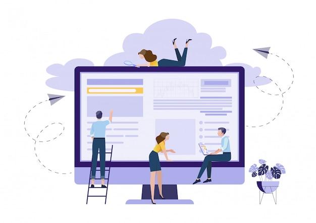 Concept van teamwork planning