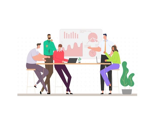Concept van zakelijke bijeenkomst