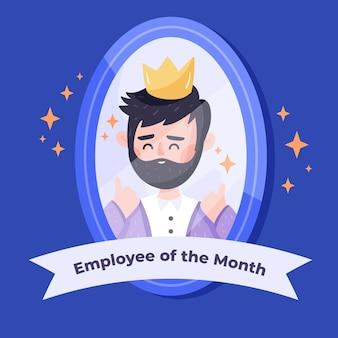 Concept voor werknemer van de maand