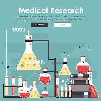 Concept voor wetenschap, geneeskunde en kennis