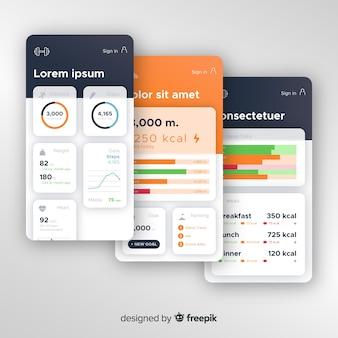 Concepten voor mobiele app