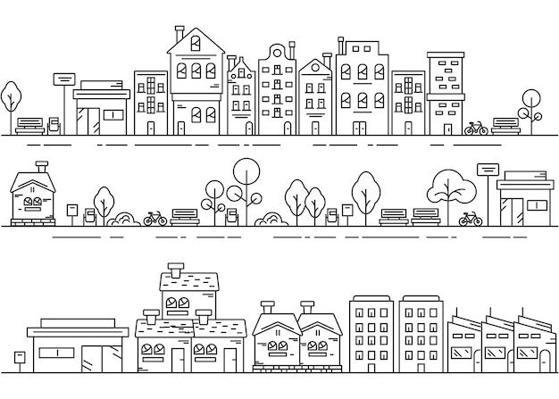 Conceptontwerp voor stadslijn en stadspark