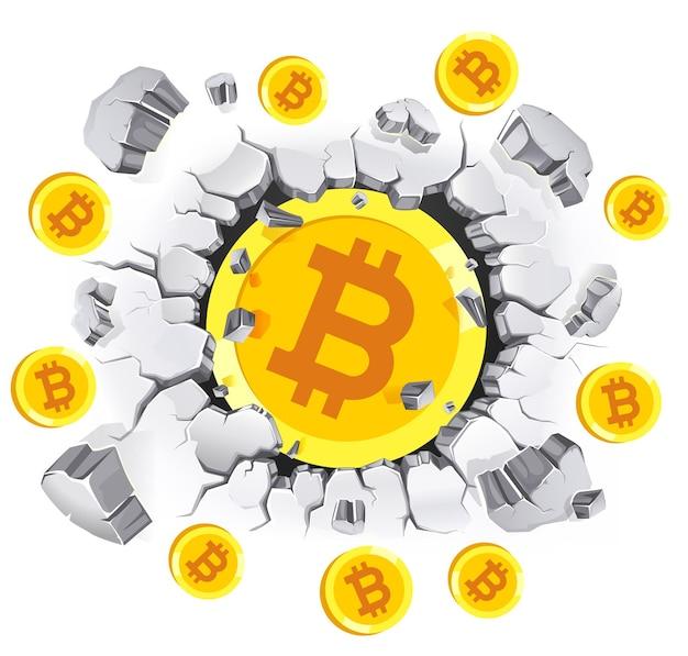 Conceptueel ontwerp van cryptocurrency mining