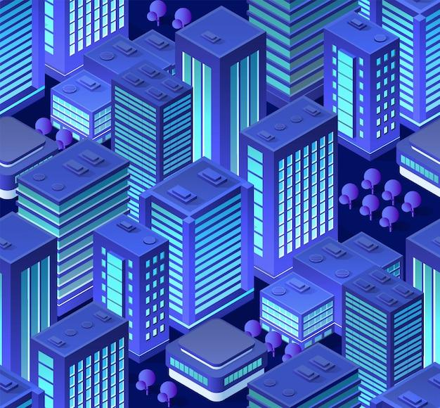Conceptuele stedelijke naadloos