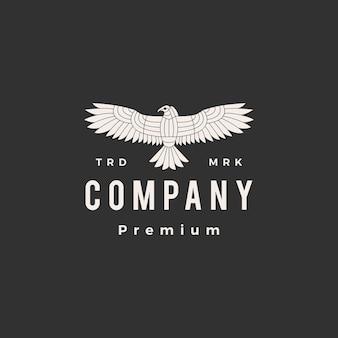 Condor hipster vintage logo