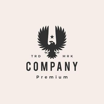 Condor vogel hipster vintage logo