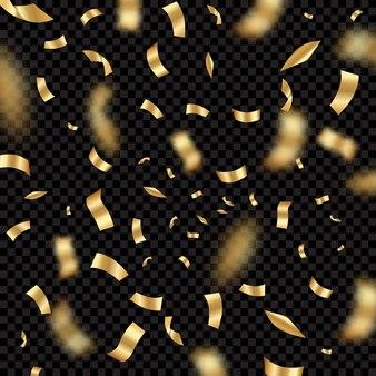 Confetti explodeert. holiday party festival achtergrond met serpentine award congrats verjaardag fatsoenlijke vector sjabloon. festival groet magie, ceremonie fiesta illustratie