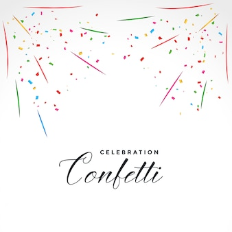 Confetti explosie partij viering achtergrond