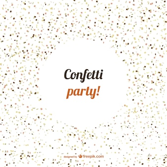 Confetti feestje vector