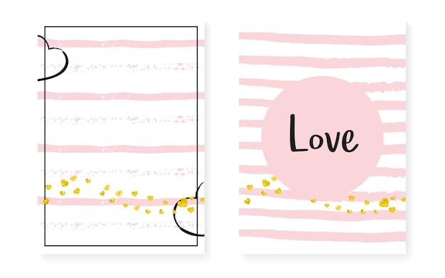 Confetti met stippen. witte kwekerij illustratie. roze glittery aanbieding. streep gatsby kunst. zwart ontwerp. plakboek starburst-set. gouden splatter frame. gouden polka dot confetti