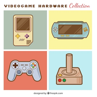 Consoles en controles ingesteld